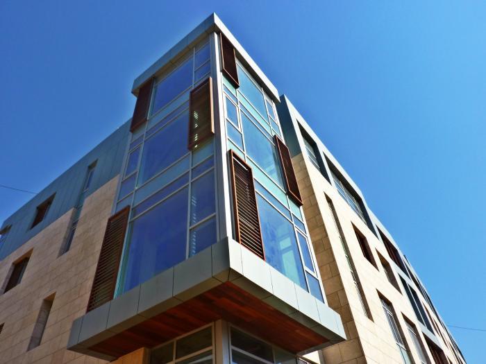 Titanium metal panels : Zinc composite metal panelsl panel